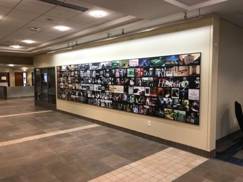 301 Lobby Branding Wall A